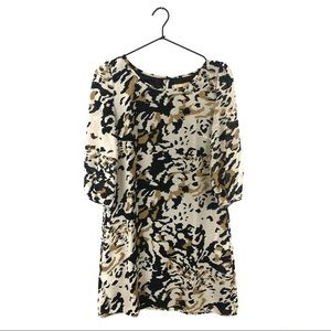 Francesca's Collections Animal Print Shift Dress